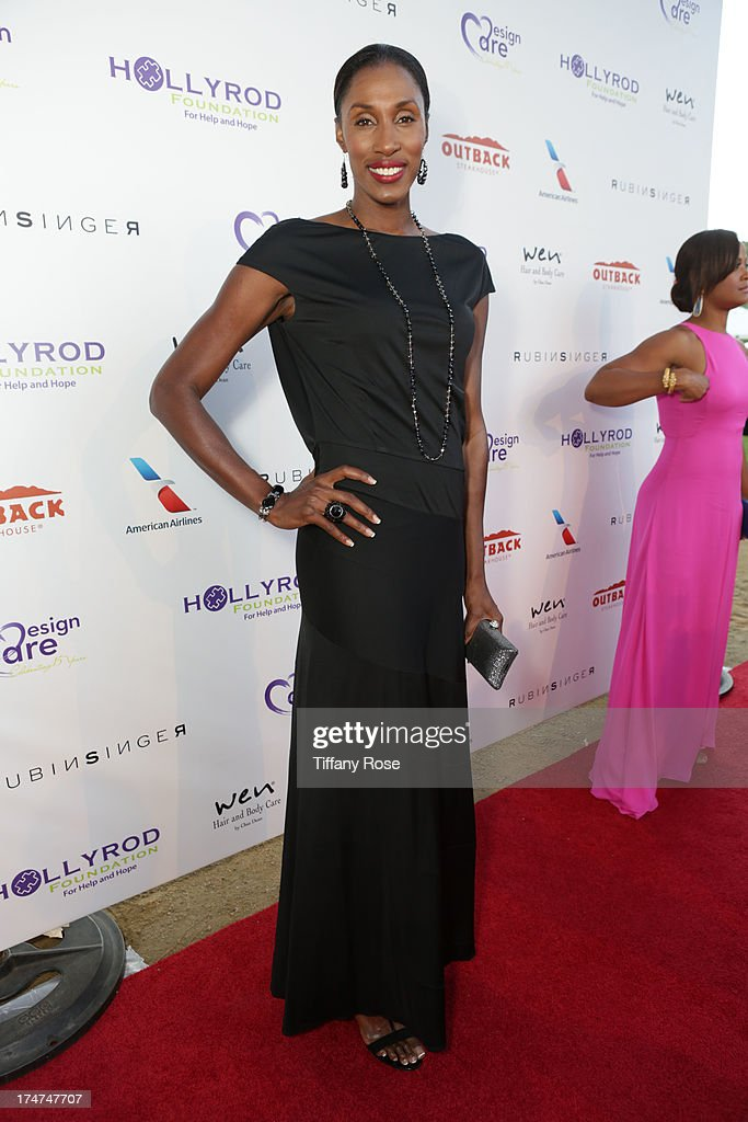 Lisa Leslie attends the 15th Annual DesignCare benefiting The HollyRod Foundation on July 27, 2013 in Malibu, California.