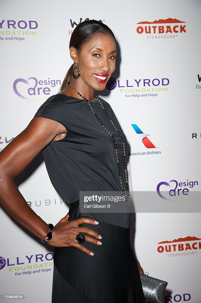 Lisa Leslie attends the 15th Annual DesignCare on July 27, 2013 in Malibu, California.