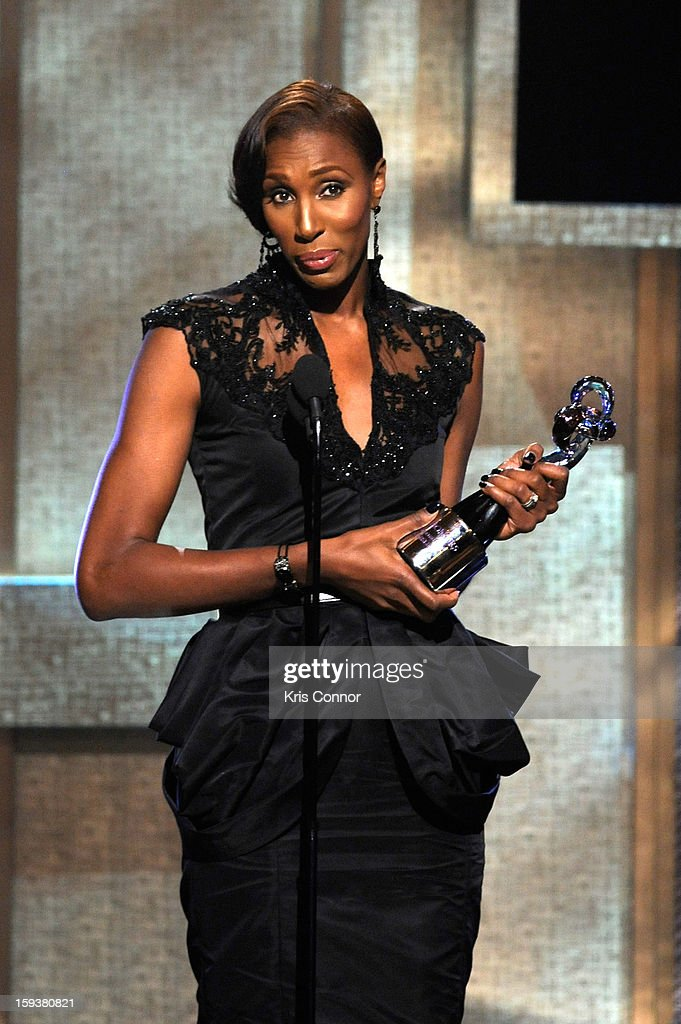 Lisa Leslie onstage at BET Honors 2013 at Warner Theatre on January 12, 2013 in Washington, DC.