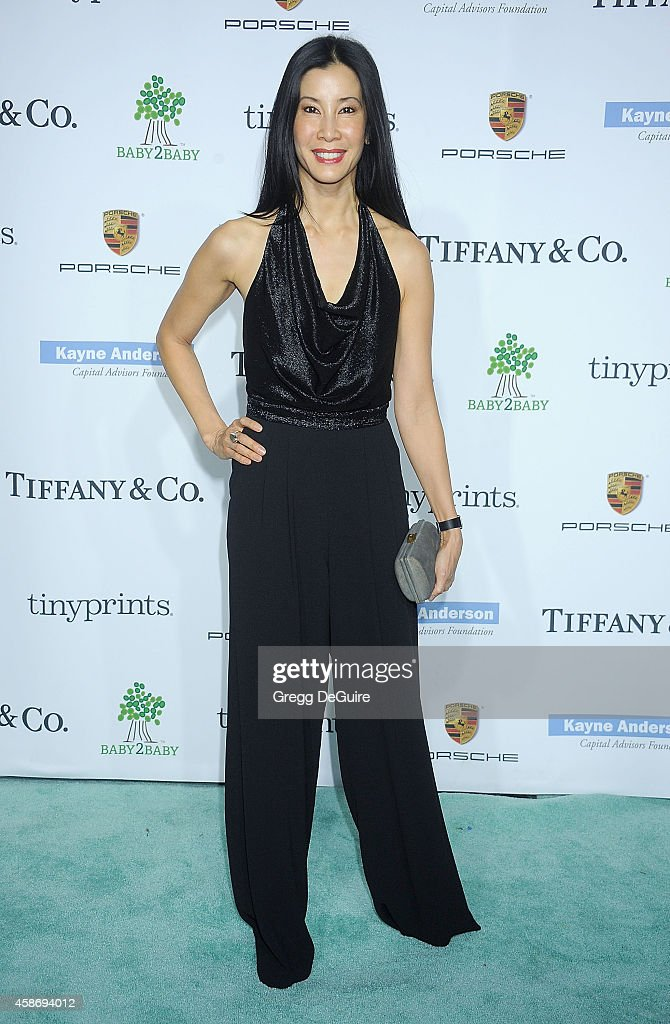 Lisa Ling arrives at the 2014 Baby2Baby Gala presented by Tiffany Co honoring Kate Hudson at The Book Bindery on November 8 2014 in Culver City...