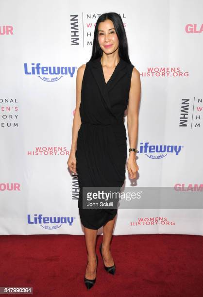Lisa Ling at the Women Making History Awards at The Beverly Hilton Hotel on September 16 2017 in Beverly Hills California