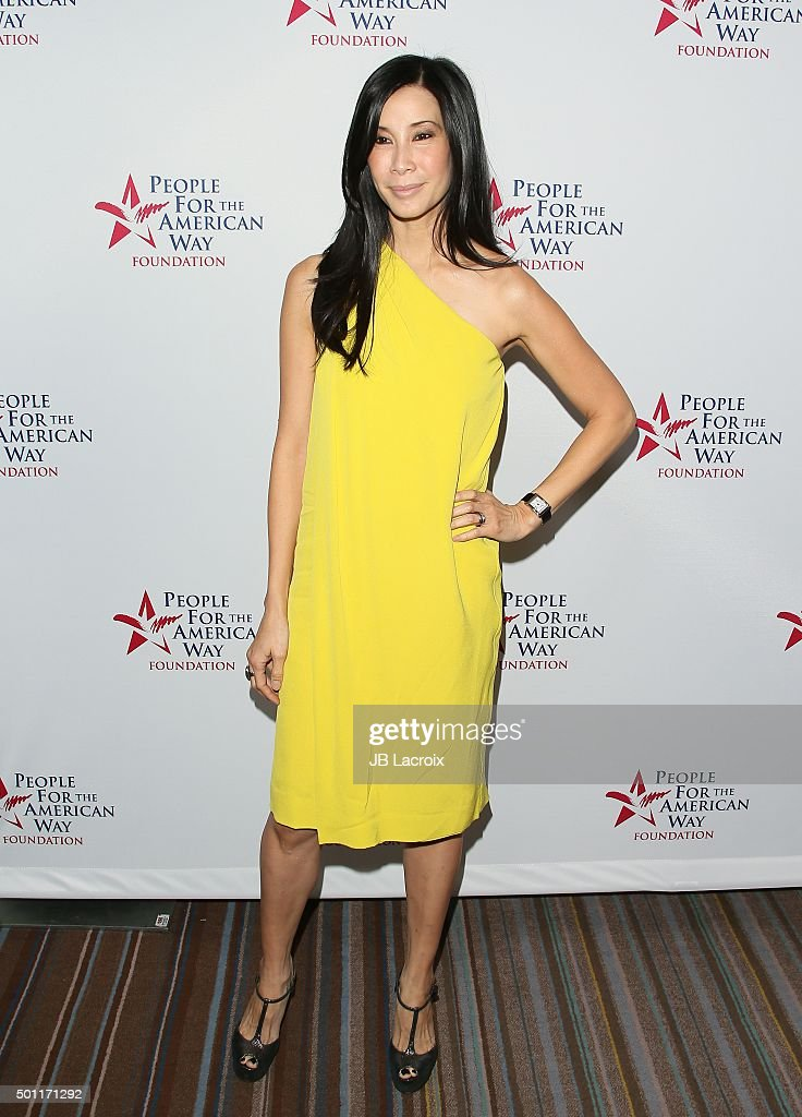 Lisa Ling attends the 2015 Spirit of Liberty Awards Dinner on December 12 2015 in Beverly Hills California