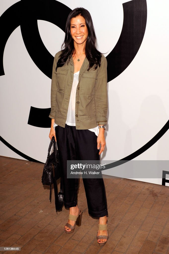 Lisa Ling attends the annual RxART PARTY sponsored by CHANEL Beaute at Highline Stages on September 22 2011 in New York City