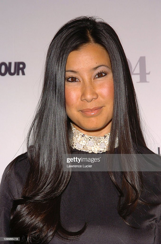 Lisa Ling during Glamour Magazine Salutes The 2004 Women of the Year Arrivals at American Museum of Natural History in New York City New York United...