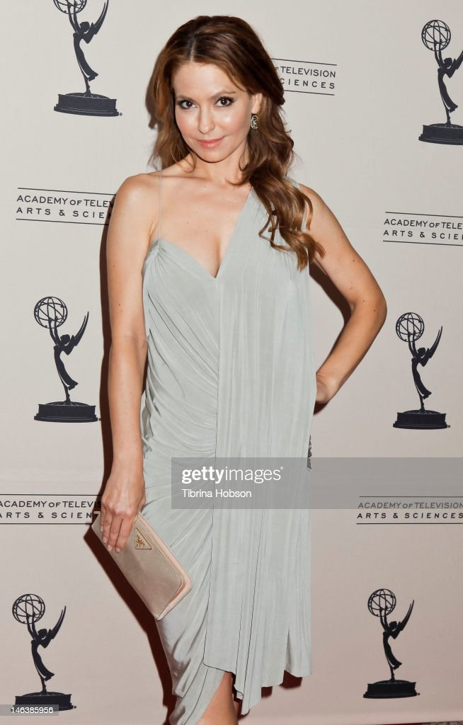 Lisa Lo Cicero attends the 39th annual daytime Emmy Awards nominees reception at SLS Hotel on June 14, 2012 in Beverly Hills, California.