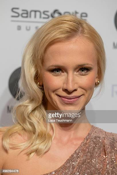 Lisa Loch arrives at the GQ Men of the year Award 2015 at Komische Oper on November 5 2015 in Berlin Germany