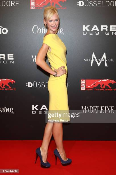 Lisa Loch attends KARE Design at the New Faces Award Fashion 2013 at Rheinterrasse on July 22 2013 in Duesseldorf Germany