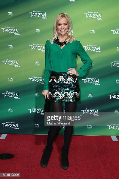 Lisa Loch attends 'Tarzan' Musical Premiere on November 6 2016 in Oberhausen Germany