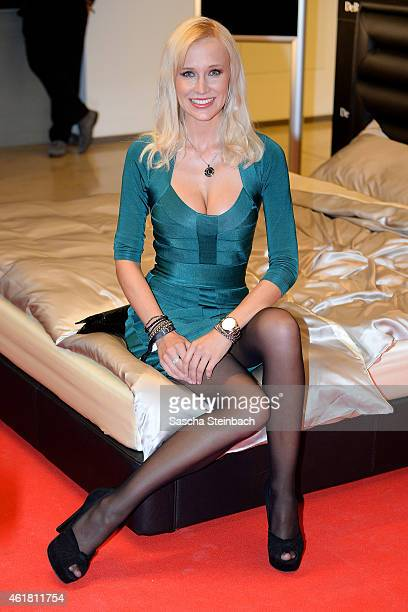 Lisa Loch attends the DeRucci Grand Opening party at Cologne Flora on January 19 2015 in Cologne Germany