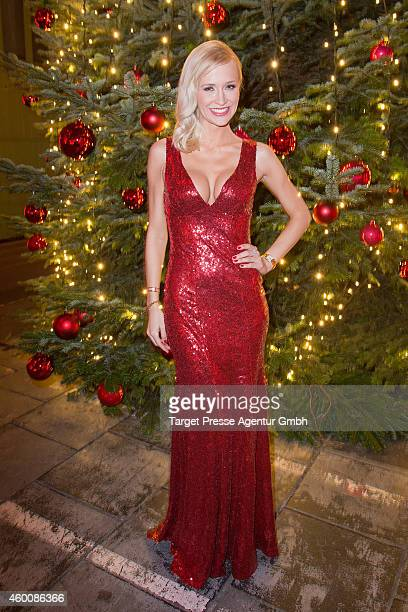 Lisa Loch attends the Ein Herz Fuer Kinder Gala 2014 after show party at Tempelhof Airport on December 6 2014 in Berlin Germany