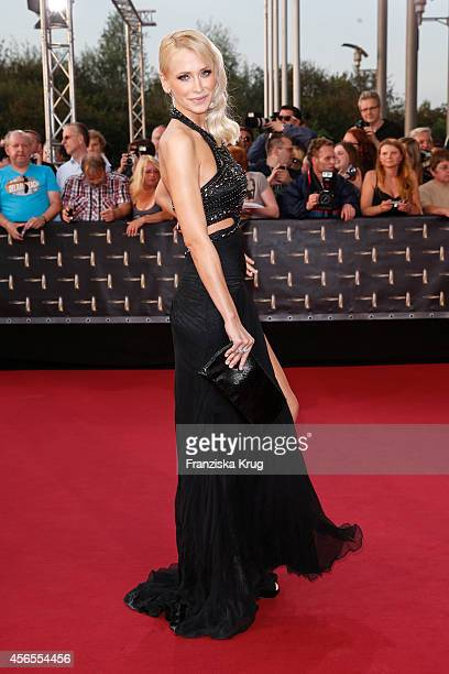 Lisa Loch attends the red carpet of the Deutscher Fernsehpreis 2014 on October 02 2014 in Cologne Germany
