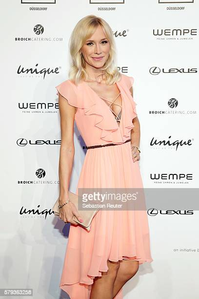 Lisa Loch attends the Unique show during Platform Fashion July 2016 at Areal Boehler on July 23 2016 in Duesseldorf Germany