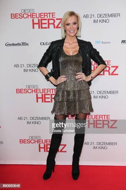 Lisa Loch during the 'Dieses bescheuerte Herz' premiere at Mathaeser Filmpalast on December 11 2017 in Munich Germany