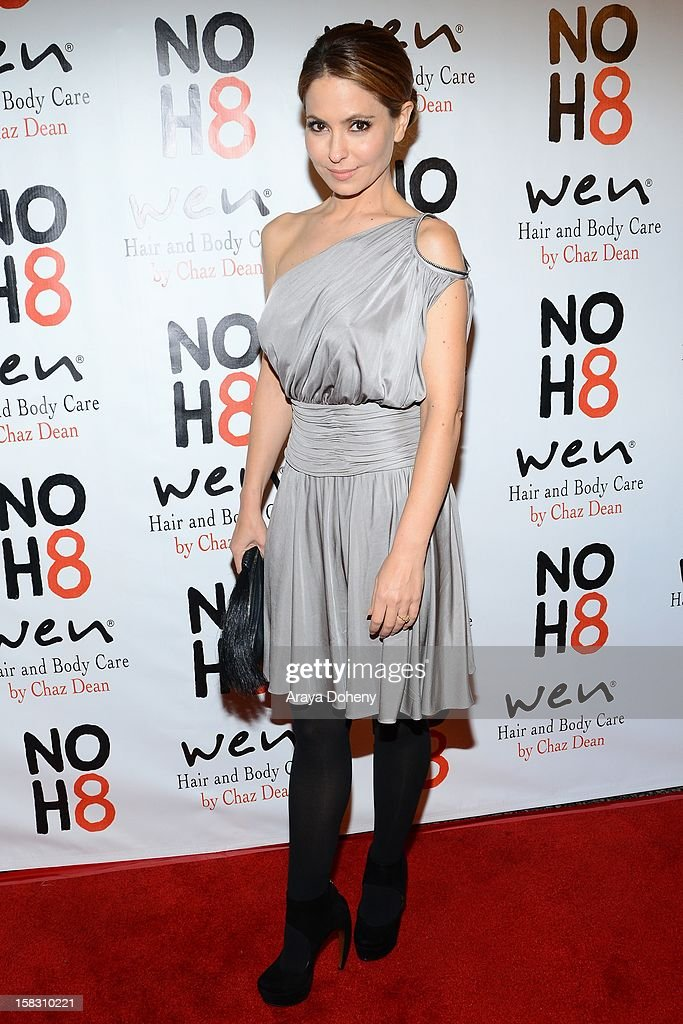 Lisa LoCicero arrives at the NOH8?s 4th Anniversary celebration at Avalon on December 12, 2012 in Hollywood, California.