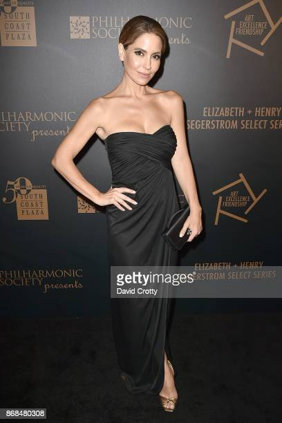 Lisa LoCicero attends the Mariinsky Orchestra Concert in honor of Henry Segerstrom and the 50th anniversary of South Coast Plaza on October 30 2017...