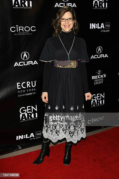Lisa Loeb during Gen Art and Acura Present 'The New Garde' Fashion Show Arrivals at Park Plaza Hotel in Los Angeles California United States