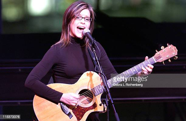 Lisa Loeb during Lisa Loeb in Concert at The Allen Room in New York City February 3 2005 at The Allen Room Frederick P Rose Hall in New York City New...
