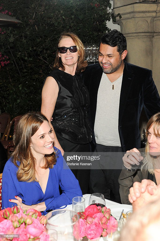 Lisa Love and Juan Carlos Obando attend Juan Carlos Obando Jewelry Collection Launch Dinner at Chateau Marmont on November 15, 2012 in Los Angeles, California.