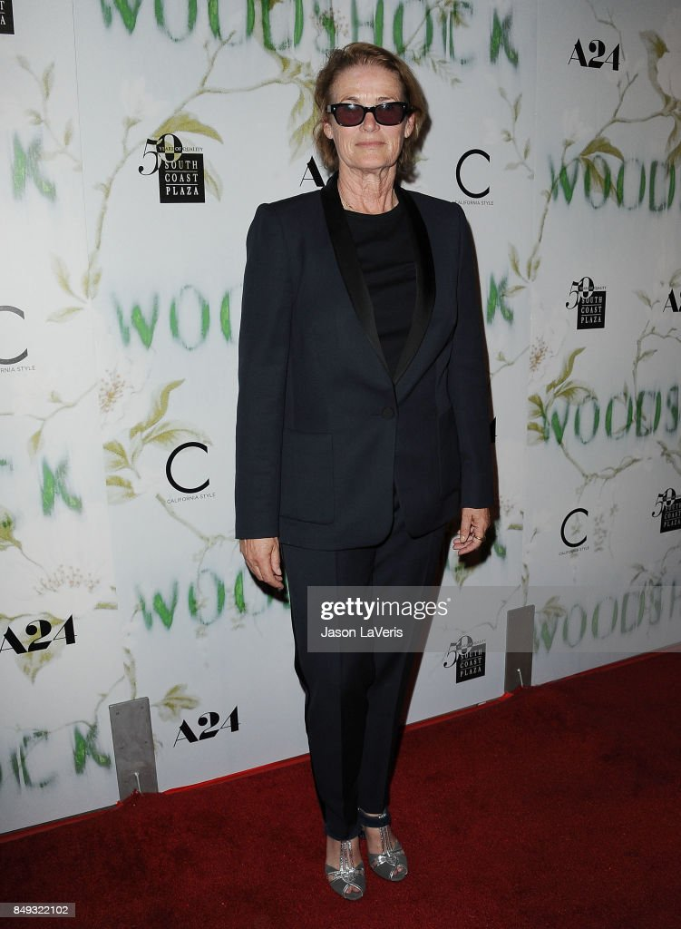 Lisa Love attends the premiere of 'Woodshock' at ArcLight Cinemas on September 18, 2017 in Hollywood, California.