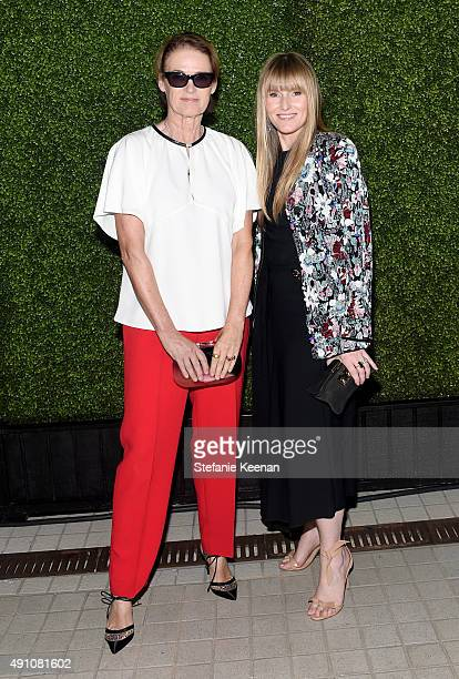 Lisa Love West Coast Director of Vogue and Teen Vogue and Amy Astley Editor in Chief at Teen Vogue attend Teen Vogue Celebrates the 13th Annual Young...