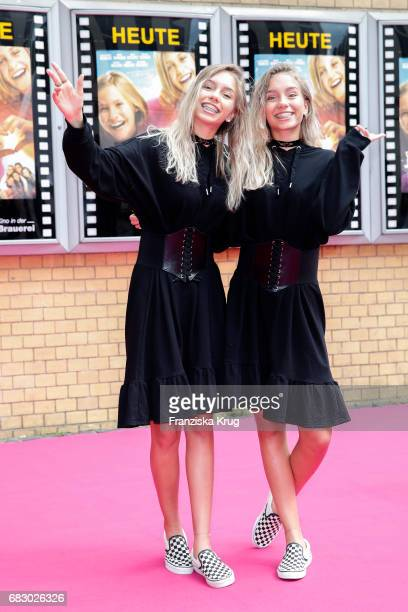Lisa Mantler and Lena Mantler during the premiere of the film 'Hanni Nanni Mehr als beste Freunde' at Kino in der Kulturbrauerei on May 14 2017 in...