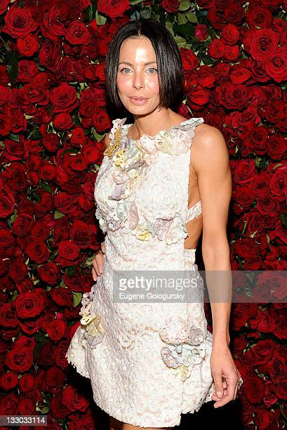 Lisa Maria Falcone attends the Museum of Modern Art's 4th Annual Film benefit 'A Tribute to Pedro Almodovar' at the Museum of Modern Art on November...