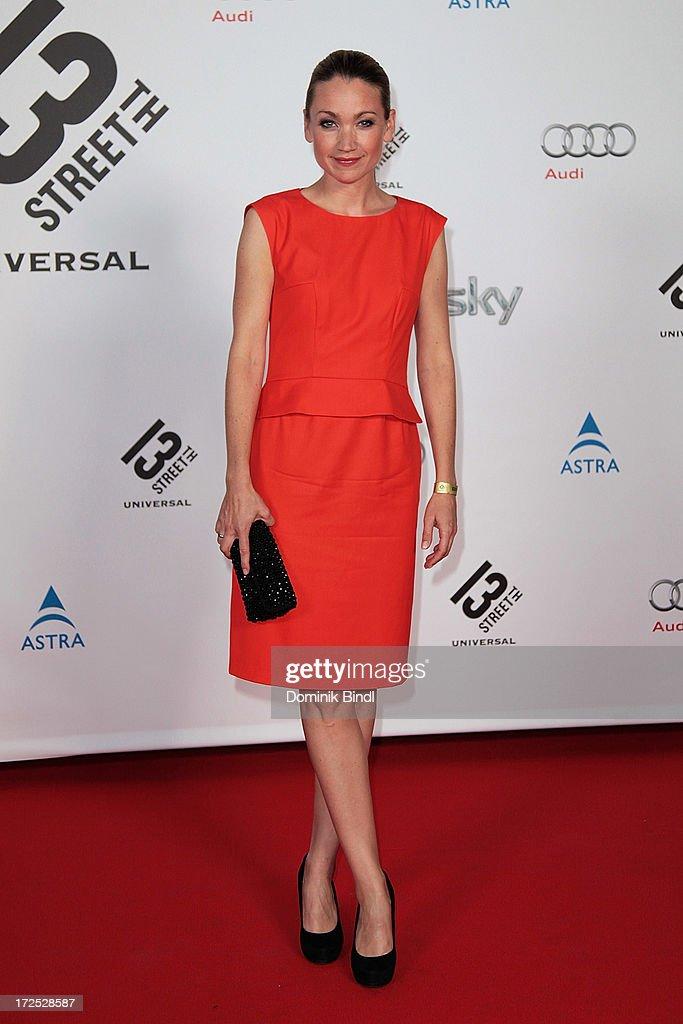 Lisa Maria Potthoff attends the Shocking Shorts Award at Galerie der Kuenstler on July 2, 2013 in Munich, Germany.