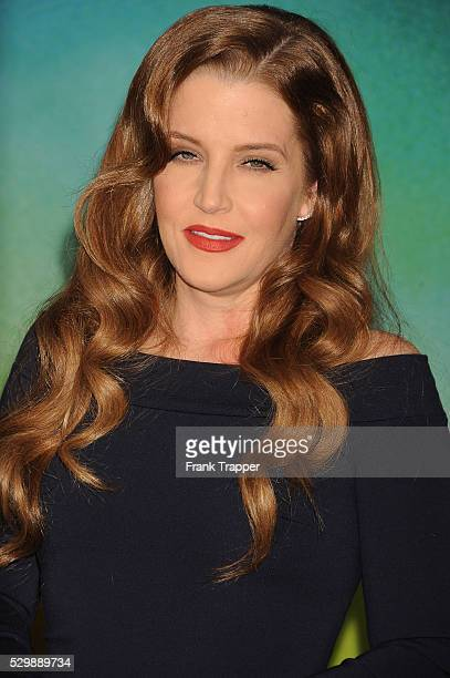 Lisa Marie Presley arrives at the premiere of 'Mad Max Fury Road' held at the TCL Chinese Theater in Hollywood