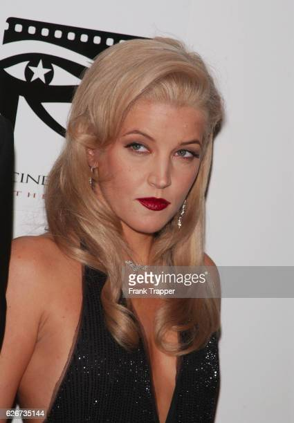 Lisa Marie Presley at the 16th Annual American Cinematheque Award honoring Nicolas Cage The fundraiser is for the American Cinematheque a nonprofit...