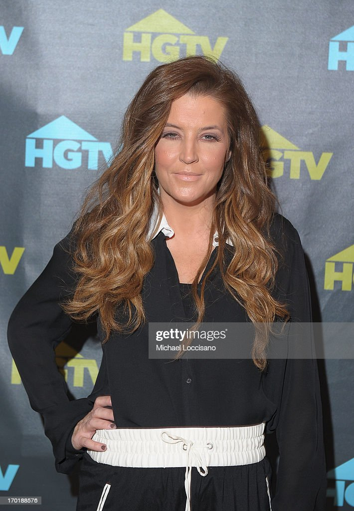 Lisa Marie Presley attends HGTV'S The Lodge At CMA Music Fest - Day 3 on June 8, 2013 in Nashville, Tennessee.