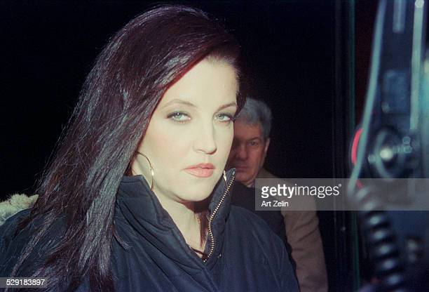 Lisa Marie Presley closeup circa 1990 New York