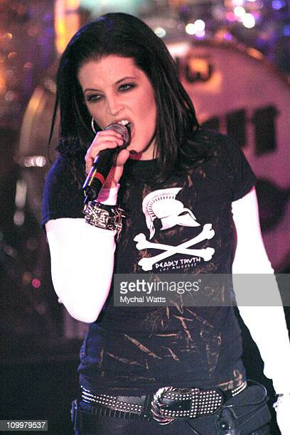 Lisa Marie Presley during Lisa Marie Presley in Concert at The Supper Club in New York City May 11 2005 at The Supper Club in New York City New York...