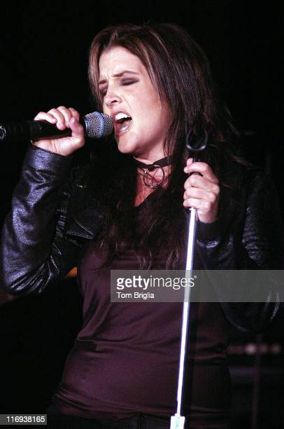 Lisa Marie Presley during Lisa Marie Presley Performs At Trump Marina at Trump Marina Casino Hotel in Atlantic City New Jersey United States