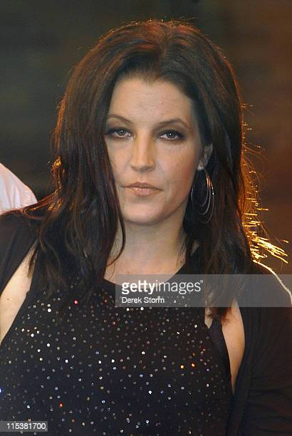 Lisa Marie Presley during Lisa Marie Presley Performs on 'Good Morning America' May 17 2005 at ABC Studios in New York City New York United States