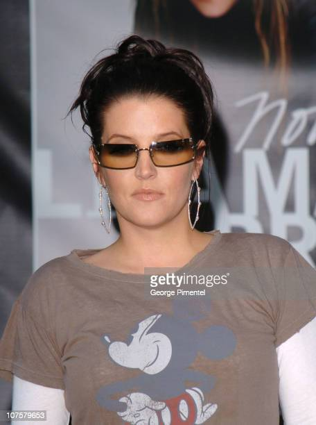 Lisa Marie Presley during Lisa Marie Presley Signs Copies of Her New CD 'Now What' at Eaton Centre April 14 2005 at Toronto Eaton Centre in Toronto...