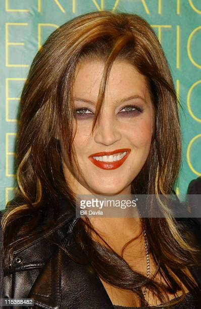 Lisa Marie Presley during The Fashion Group International Presents The 20th Annual Night of Stars at Cipriani 42nd Street in New York City New York...