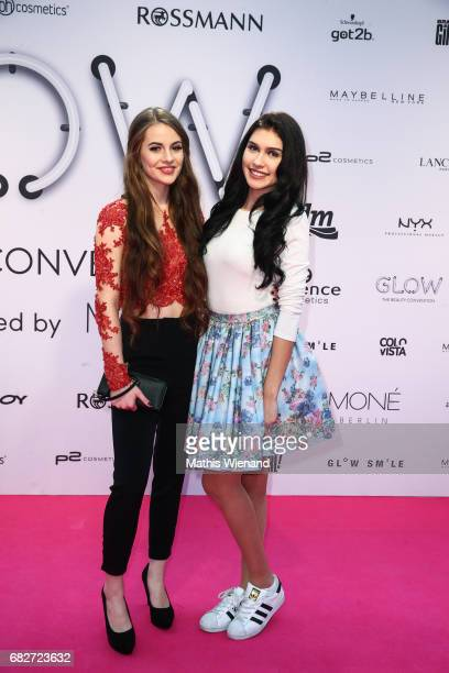 Lisa Marie Schiffner and Ana Kohler attend the GLOW The Beauty Convention on May 13 2017 in Duesseldorf Germany