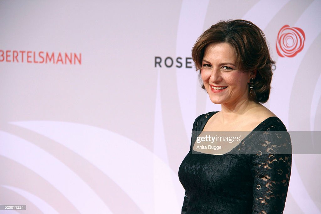 Lisa Martine attends the charity event 'Rosenball' at Hotel Intercontinental on April 30, 2016 in Berlin, Germany.