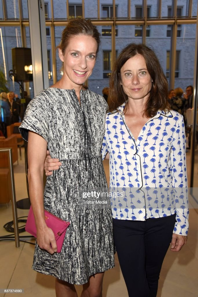 Lisa Martinek and Inka Friedrich during the UFA Filmnaechte Berlin Reception on August 22, 2015 in Berlin, Germany.