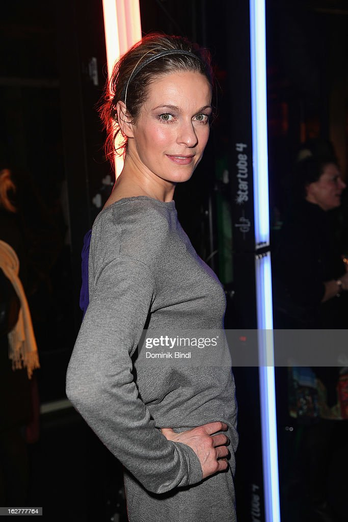 Lisa Martinek attends the BRIGITTE fashion event 2013 on February 26, 2013 in Munich, Germany.