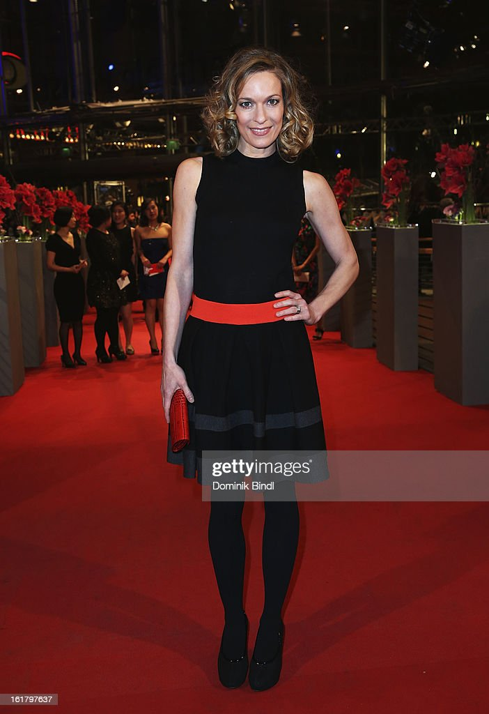 Lisa Martinek attends the Closing Ceremony of the 63rd Berlinale International Film Festival at Berlinale Palast on February 14, 2013 in Berlin, Germany.