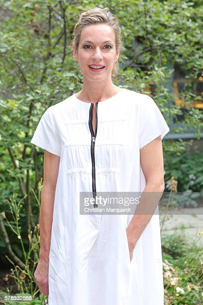 Lisa Martinek attends the Sky Arts Launch event at Koenig Galerie on July 21 2016 in Berlin Germany
