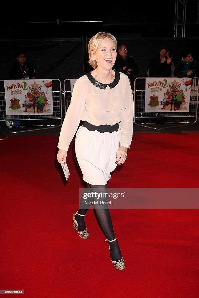 Lisa Maxwell attends the 'Nativity 2: Danger In The Manger' premiere at Empire Leicester Square on November 13, 2012 in London, England.