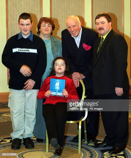 Lisa McAleer from County Tyrone with her brother Conor McAleer hermother Monica McAleer actor Richard Wilson and her father Gerald McAleer Lisa was...