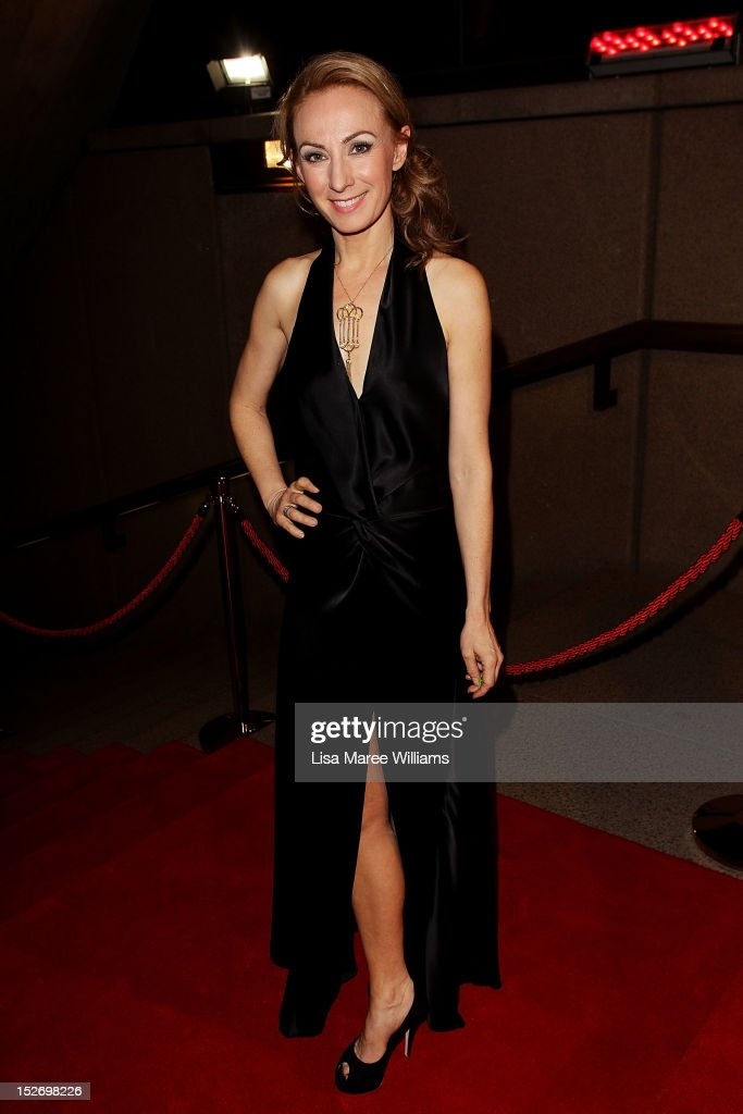 Lisa McCune arrives at the 2012 Helpmann Awards at the Sydney Opera House on September 24, 2012 in Sydney, Australia.