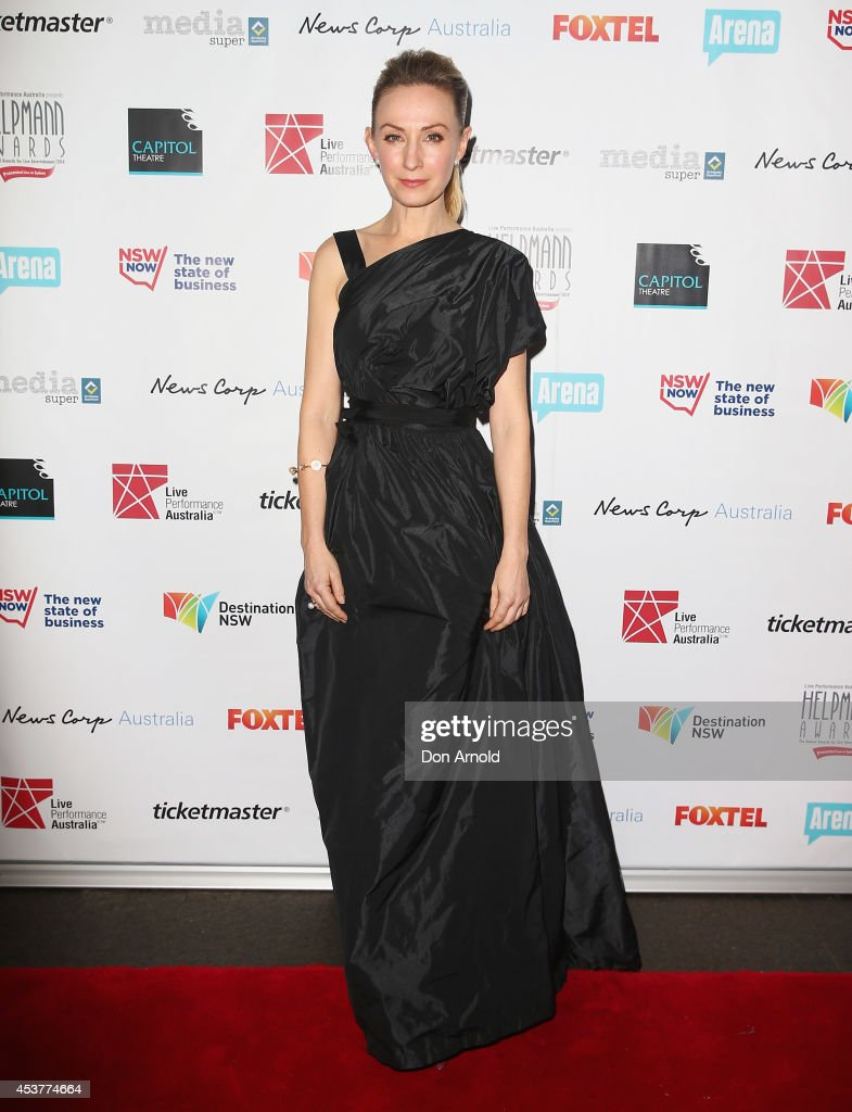 <a gi-track='captionPersonalityLinkClicked' href=/galleries/search?phrase=Lisa+McCune&family=editorial&specificpeople=214113 ng-click='$event.stopPropagation()'>Lisa McCune</a> arrives at the 2014 Helpmann Awards at the Capitol Theatre on August 18, 2014 in Sydney, Australia.