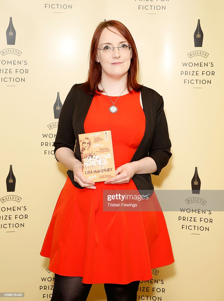Lisa McInerney shortlisted for the 2016 Baileys Women's Prize for Fiction for The Glorious Heresies ahead of the winner announcement at the Royal...