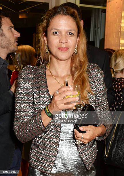 Lisa Moorish attends the launch of Manhattan Loft Gardens Harry Handelsman's newest property on September 18 2014 in London England