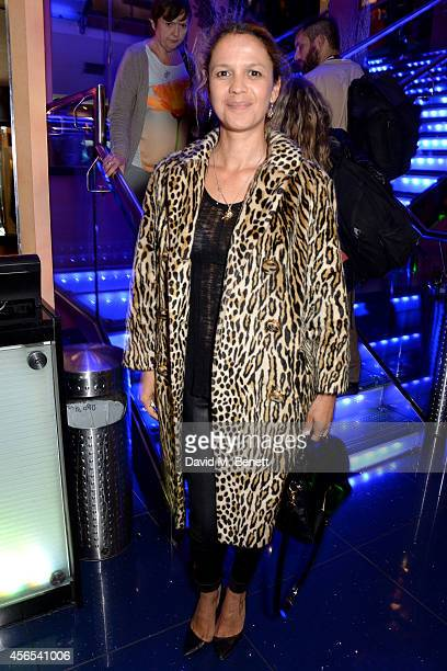 Lisa Moorish attends the UK Premiere of 'Flim The Movie' at the Vue Piccadilly on October 2 2014 in London England