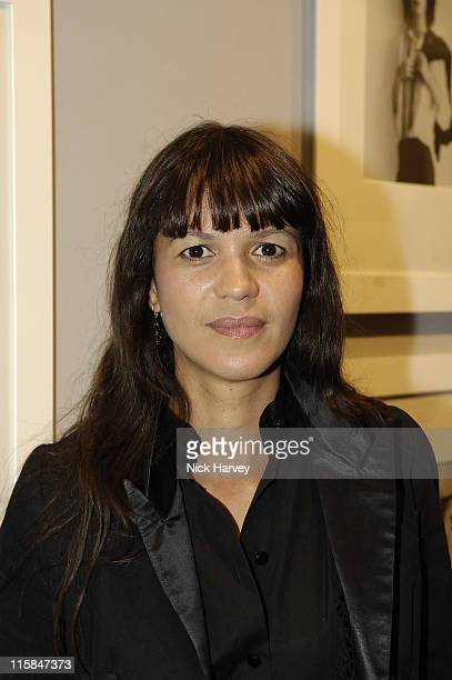 Lisa Moorish during Robert Mapplethorpe Exhibition Private View at Alison Jacques Gallery in London United Kingdom